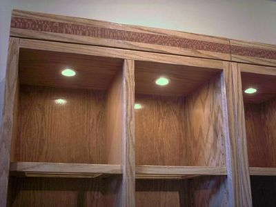 Four Piece Entertainment Center And Bookcases